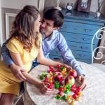 Фотосессия беременной Даши и ее Love Story с мужем