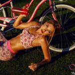 Фотосессия с велосипедом
